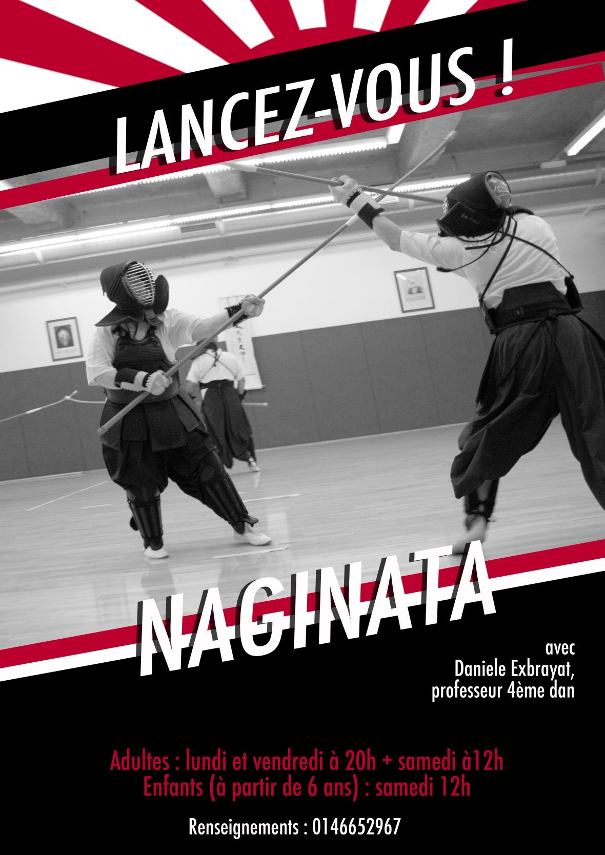 affiche naginata
