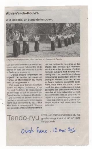 Tendo ouest france